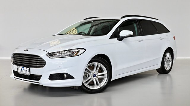 Used Ford Mondeo MD Ambiente Thomastown, 2016 Ford Mondeo MD Ambiente White 6 Speed Sports Automatic Dual Clutch Wagon