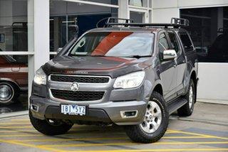2013 Holden Colorado RG MY14 LTZ Crew Cab Grey 6 Speed Sports Automatic Utility