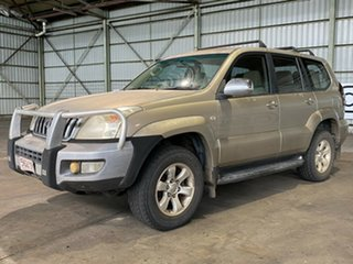 2004 Toyota Landcruiser Prado GRJ120R GXL Gold 5 Speed Manual Wagon.