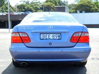 2001 Mercedes-Benz CLK-Class C208 CLK320 Avantgarde Blue 5 Speed Automatic Coupe