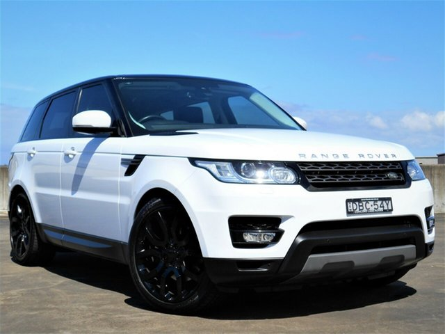 Used Land Rover Range Rover Sport L494 16MY SE Brookvale, 2015 Land Rover Range Rover Sport L494 16MY SE White 8 Speed Sports Automatic Wagon