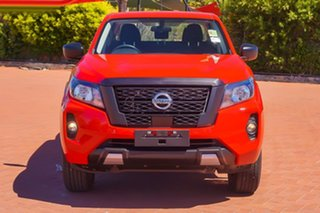 2021 Nissan Navara Burning Red.