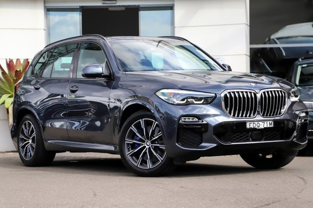 Used BMW X5 G05 xDrive30d Steptronic M Sport Sutherland, 2019 BMW X5 G05 xDrive30d Steptronic M Sport Grey 8 Speed Sports Automatic Wagon