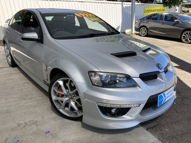 Used Holden Special Vehicles ClubSport E Series 3 MY12 R8 Moorooka, 2011 Holden Special Vehicles ClubSport E Series 3 MY12 R8 Silver 6 Speed Manual Sedan