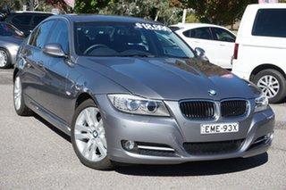 2011 BMW 3 Series E90 MY11 320i Steptronic Lifestyle Grey 6 Speed Sports Automatic Sedan.