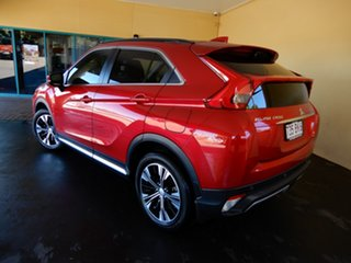2017 Mitsubishi Eclipse Cross YA Exceed (2WD) Red Continuous Variable Wagon.