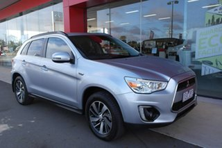2015 Mitsubishi ASX XB MY15 XLS Silver 6 Speed Sports Automatic Wagon.