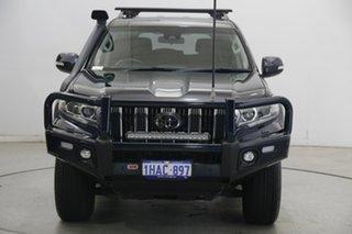 2020 Toyota Landcruiser Prado GDJ150R GXL Black 6 Speed Sports Automatic Wagon.