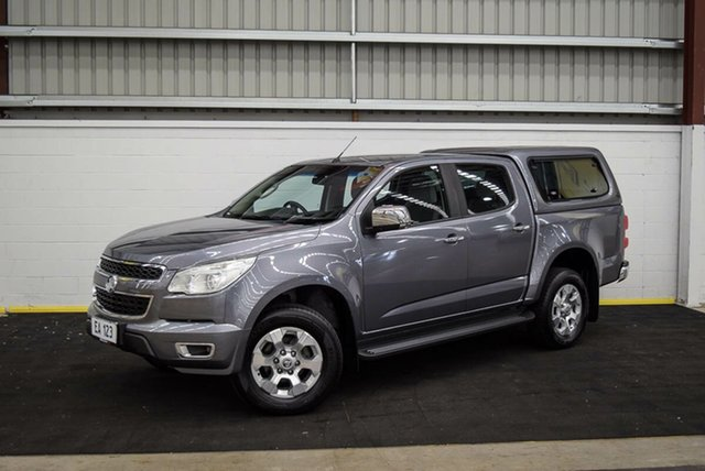 Used Holden Colorado RG MY16 LTZ Space Cab Canning Vale, 2016 Holden Colorado RG MY16 LTZ Space Cab Grey 6 Speed Manual Utility