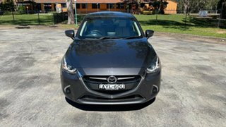 2019 Mazda 2 DJ2HAA Genki SKYACTIV-Drive Dark Grey 6 Speed Sports Automatic Hatchback.