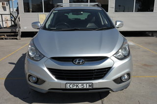 2013 Hyundai ix35 LM2 SE AWD Silver 6 Speed Sports Automatic Wagon.