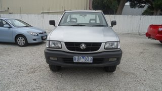 2002 Holden Rodeo TF MY02 LX 4x2 Silver 5 Speed Manual Cab Chassis