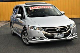 2013 Honda Odyssey 4th Gen MY13 Luxury Silver 5 Speed Sports Automatic Wagon.