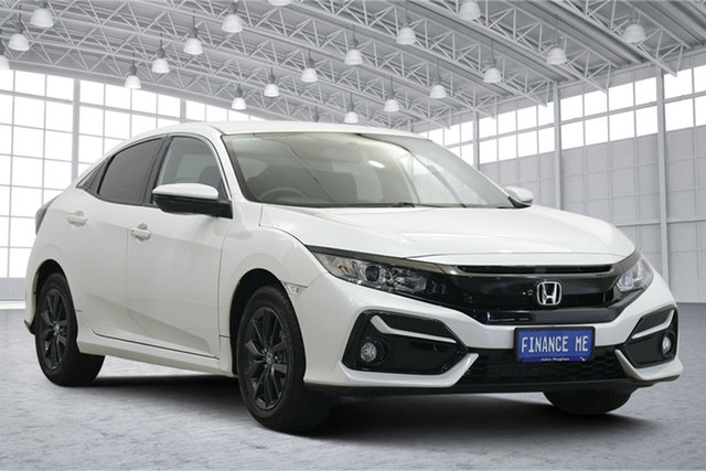 Used Honda Civic 10th Gen MY20 VTi-S Victoria Park, 2020 Honda Civic 10th Gen MY20 VTi-S White 1 Speed Constant Variable Hatchback