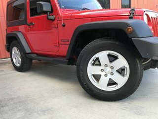 2017 Jeep Wrangler JK MY17 Sport Red 5 Speed Automatic Softtop