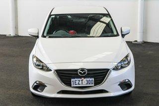 2016 Mazda 3 BN MY17 Neo White 6 Speed Automatic Sedan.