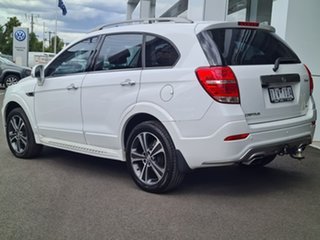 2016 Holden Captiva LTZ AWD White Automatic Wagon.