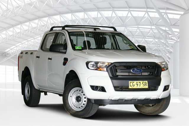 Used Ford Ranger PX MkII XL Moorebank, 2015 Ford Ranger PX MkII XL White 6 Speed Sports Automatic Utility