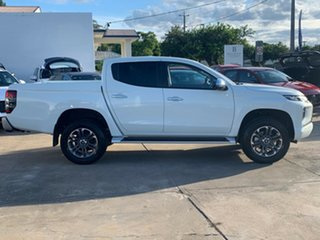 2021 Mitsubishi Triton MR MY21 GLS Double Cab White 6 Speed Sports Automatic Utility