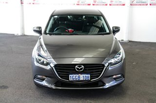 2016 Mazda 3 BN MY17 Neo Grey 6 Speed Automatic Sedan.