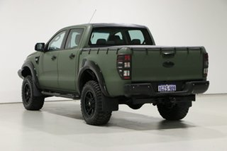 2014 Ford Ranger PX XLT 3.2 (4x4) Green 6 Speed Automatic Double Cab Pick Up