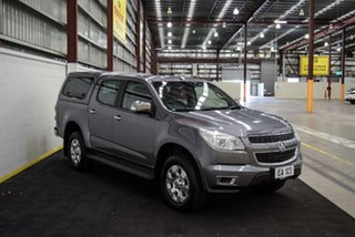 2016 Holden Colorado RG MY16 LTZ Space Cab Grey 6 Speed Manual Utility