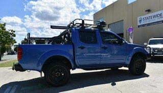 2012 Nissan Navara D40 Series 4 ST-X (4x4) Blue 6 Speed Manual Dual Cab Pick-up