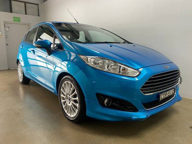 Used Ford Fiesta WZ Sport Phillip, 2014 Ford Fiesta WZ Sport Blue 6 Speed Automatic Hatchback