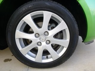 2007 Mazda 2 DE Series 1 Maxx Green Automatic Hatchback