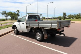 2007 Mitsubishi Triton ML MY07 GL 4x2 White 5 Speed Manual Cab Chassis.