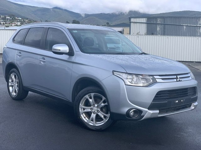 Used Mitsubishi Outlander ZJ MY14.5 LS 4WD Moonah, 2014 Mitsubishi Outlander ZJ MY14.5 LS 4WD Silver 6 Speed Sports Automatic Wagon