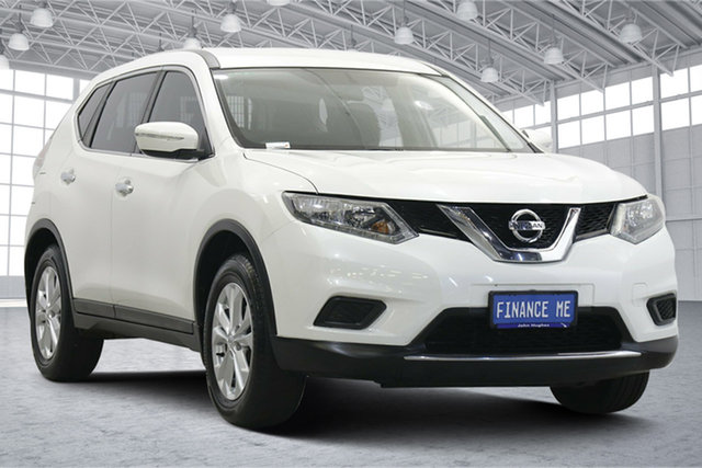 Used Nissan X-Trail T32 ST X-tronic 2WD Victoria Park, 2015 Nissan X-Trail T32 ST X-tronic 2WD Ivory Pearl 7 Speed Constant Variable Wagon
