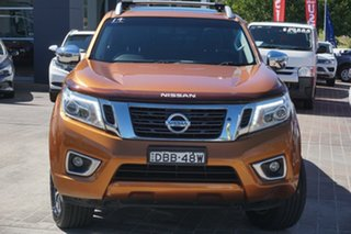 2015 Nissan Navara D23 ST-X Orange 7 Speed Sports Automatic Utility.