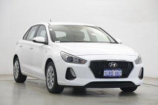 2018 Hyundai i30 PD MY18 Go Polar White 6 Speed Sports Automatic Hatchback