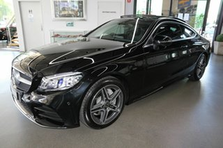 2019 Mercedes-Benz C-Class C205 809MY C200 9G-Tronic Black 9 Speed Sports Automatic Coupe