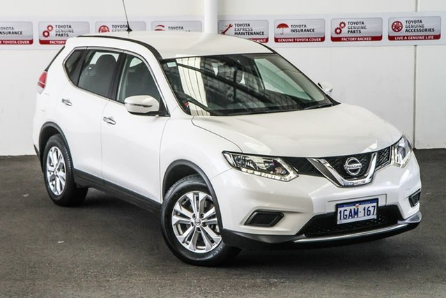 Pre-Owned Nissan X-Trail T32 ST 7 Seat (FWD) Rockingham, 2016 Nissan X-Trail T32 ST 7 Seat (FWD) White Continuous Variable Wagon