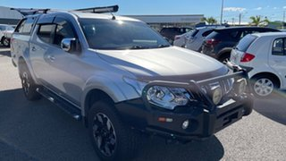 2015 Mitsubishi Triton MQ MY16 GLS Double Cab Sterling Silver 6 Speed Manual Utility.