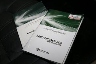 2020 Toyota Landcruiser VDJ200R Sahara Horizon White 6 Speed Sports Automatic Wagon