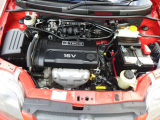 2007 Holden Barina TK Red Manual Hatchback