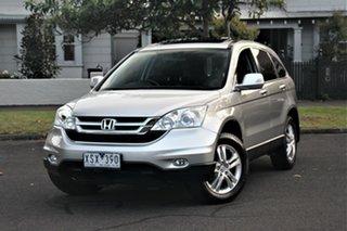 2010 Honda CR-V MY10 (4x4) Luxury Silver 5 Speed Automatic Wagon.