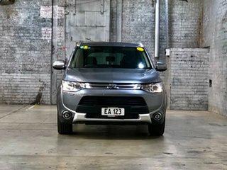 2014 Mitsubishi Outlander ZJ MY14.5 Aspire 4WD Grey 6 Speed Constant Variable Wagon.