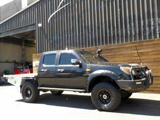 2010 Ford Ranger PK XLT Crew Cab Black 5 Speed Manual Utility.