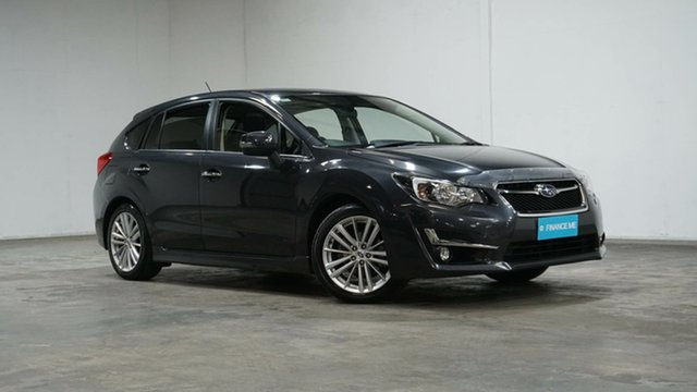 Used Subaru Impreza G4 MY16 2.0i-S Lineartronic AWD Welshpool, 2016 Subaru Impreza G4 MY16 2.0i-S Lineartronic AWD Grey 6 Speed Constant Variable Hatchback