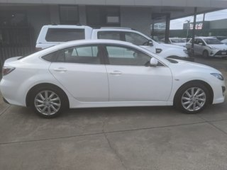 2012 Mazda 6 GH1052 MY12 Touring White 5 Speed Sports Automatic Sedan