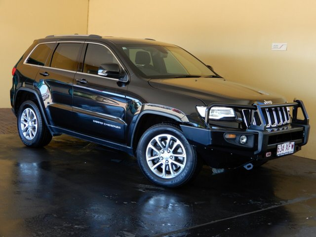 Used Jeep Grand Cherokee WK MY15 Laredo (4x4) Toowoomba, 2015 Jeep Grand Cherokee WK MY15 Laredo (4x4) Black 8 Speed Automatic Wagon