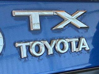 2000 Toyota Landcruiser Prado KZJ95R TX FullTime 4WD DR Blue 5 Speed Manual Wagon