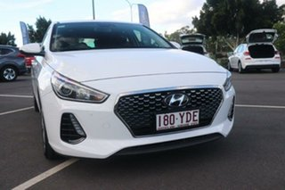 2018 Hyundai i30 PD MY18 Active Ceramic White 6 Speed Sports Automatic Hatchback.