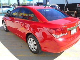 2012 Holden Cruze JH Series II MY12 CD Red 5 Speed Manual Sedan