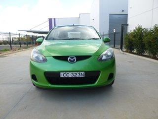 2007 Mazda 2 DE Series 1 Maxx Green Automatic Hatchback.
