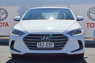 2018 Hyundai Elantra AD MY18 Active 2.0 MPI White 6 Speed Automatic Sedan.